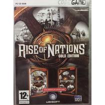 Juego Pc Rise Of Nations Gold Edition En Castellano Nuevo