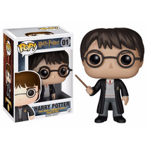 Harry Potter Boneco Pop Vinil Da Funko 10cms Pronta Entrega