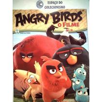 Álbum + Lote 110 Figurinhas Diferentes Angry Birds O Filme