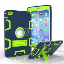 Capa Case Anti-impacto Emborrachada Ipad Mini 1 2 E Mini 3