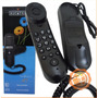 Teléfono Alámbrico Alcatel De Pared Temporis 05 Negro