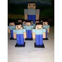 Souvenirs En Porcelana Fria Minecraft