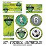 Kit 9 Artes Personalizadas Pra Festa Futebol Ou No Seu Tema