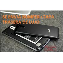 Bumper Aluminio Samsung Galaxy Note 3+tapa Trasera De Lujo