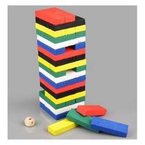 Jenga 54 Piezas De Colores