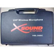 Microfono De Cabeza Inalambrico Uhf 730/860mhz Mod Ml2400c