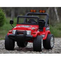 Jeep A Bateria 12v Control Remoto Asiento Doble