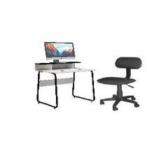 Kit Mesa Job Pc ,notebook + Cadeira Cad-x