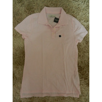 Camiseta Polo Fem. Abercrobie & Fitch G - Original