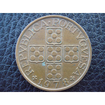 Portugal - Moneda De 1 Escudo, Año 1978 - Muy Bueno