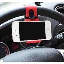 Suporte Celular Automotivo Prende Bem No Volante
