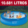 Piscina Inflável Easy Set 10681 Litros Intex Pronta Entrega