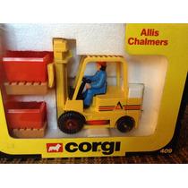 Autos Corgi allis Chalmers (montacarga)