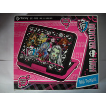 Dvd Portatil Tectoy Semi Novo Monster High Completo P3800