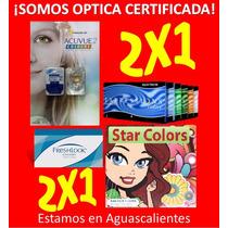 Acuvue, Star Colors, Expressions, De Optica! 100% Originales