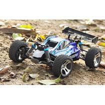 Automodelo Buggy Wltoys A959 Vortex 1/18 Rc 4wd Off -azul-