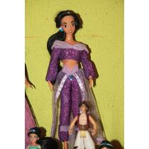 Princesa Jasmin Disney Traje De Gala Morado Remate
