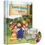 Santa Biblia Para Niños Evangelica Con Cd
