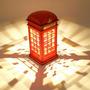 Lampara Velador Táctil Cabina Telefónica Londres