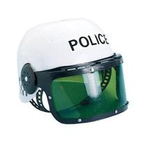 New Child Costume Policía Motorcycle Cop Casco Y Del Visera