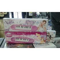 Piano Juguete Violetta Y Princesas 13 Notas