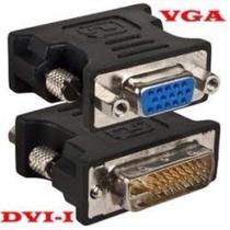 Adaptador Dvi X Vga Placa Video Monitor Gabinete Tv Lcd Led
