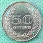 Moneda Colombia 50 C 1972 Error Five Nice Die Cracks