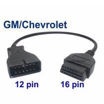 Cable Adaptador Gm Chevrolet 12 A 16 Pines Obd2 Verificacion