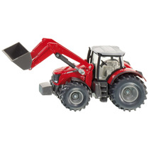 Toy Tractor Agricola - Siku Massey Ferguson W Front Loader