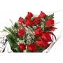 Ramo 12 Rosas - Flores Naturales Frescas 1a Calidad Floreria