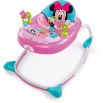 Andadera De Lujo Minnie Mouse De Disney Con Tablero Musical