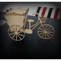 Bicicleta Fibrofacil Decorativa / Souvenirs / Centro De Mesa