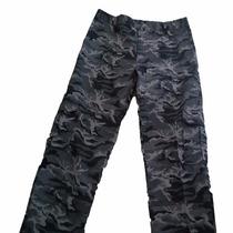Pantalones Cargo Camuflado Ripstop Impermeable Dos Bueyes