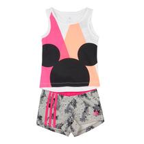 Conjunto Adidas Minnie Mouse Lk Dy Niñas