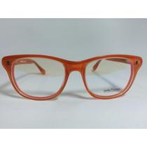 Armação Oculos De Grau Sete Sete Cinco Laranja Receituário