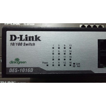Switch D-link 16 Portas 10/100 Des 1016d