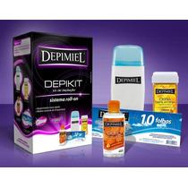 Frete Gratis Kit Depilação Sistema Roll-on Depikit Depimiel