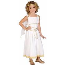 Disfraz Greco Romano Diosa Griega Para Niñas Envio Gratis