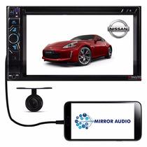 Central Multimídia Nissan 370 Z Dvd Tv Bluetooth Câmera Ré