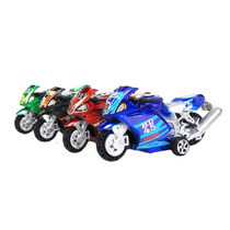 Motos Radicais 4 Pçs Coloridas Brinquedo Infantil Plástico