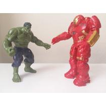 Bonecos Hulk E Hulkbuster Vingadores Marvel Era De Ultron