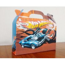Cajita Valijita Hot Wheels Souvenir Pack X30