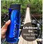 Botella Deporte Montaña Con Filtro De Agua Lifestraw (suiza)