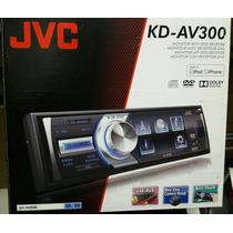 Autoestereo Jvc Kd-av300 Usb Aux Dvd Vcd Mp3 Mp4 Iphone Ipod