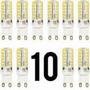 Imperdível !!! 10 Lâmpadas De Led G9 3w Branco Frio 6000k