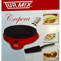 Oferta Crepas Crepera Turmix Electrica 23 Cm De Diametro