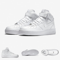 Zapatillas Nike Air Force 1 Mid | Blancas Original 100%