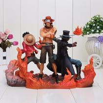 Kit Luffy + Ace + Sabo - One Piece Importado Frete Grátis