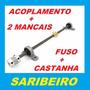 Kit C/ Fuso 8mm + Castanha Tr8 + 2 Mancal + Acoplamento Cnc