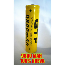 Bateria 18650 Pila Gtf 9800 Mah Litio-ion 3.7v Recargable